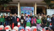 Phòng Cảnh sát Hình sự CATP cùng các nhà hảo tâm: Trao tặng quà học sinh và nhân dân tỉnh Hà Giang