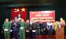 Phường Đông Hải 2 (quận Hải An): Tặng quà, phát quân tư trang tân binh nhập ngũ năm 2019