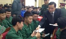 Huyện Tiên Lãng:  Tiếp xúc thanh niên chuẩn bị lên đường nhập ngũ năm 2019