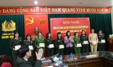 Hội Phụ nữ Công an tỉnh Nam Định: Sôi nổi các hoạt động nhân ngày Quốc tế phụ nữ 8-3