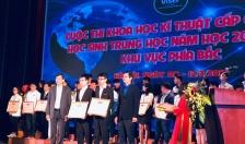 Cuộc thi KHKT dành cho học sinh trung học quốc gia (VISEF) năm học 2018-2019: Hải Phòng có 12/18 dự án đoạt giải