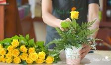 Cách cắm hoa tươi lâu