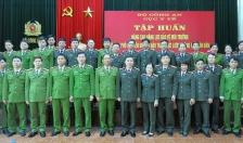 Bế giảng lớp tập huấn nâng cao năng lực bảo vệ môi trường trong lực lượng CAND