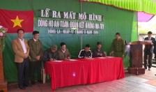 UBND xã Đông La (Thái Bình): Ra mắt mô hình dòng họ 'An toàn - đoàn kết - không ma túy'