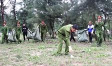 Thanh niên Công an Quảng Ninh ra quân hưởng ứng tháng thanh niên