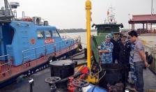 Phát hiện tàu chở dầu không rõ nguồn gốc