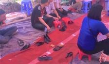 Tạm giữ 15 đối tượng trong nhóm đánh bạc tại Vĩnh Bảo