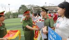 Khai mạc giải bóng đá Công an quận Hồng Bàng năm 2019