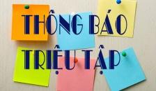 CAQ NGÔ QUYỀN - THÔNG BÁO NGÀY 18-4-2019