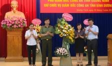 Đại tá Trịnh Ngọc Quyên giữ chức vụ Giám đốc Công an tỉnh Bình Dương