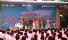 Phòng Cảnh sát Môi Trường & Trường Tiểu học Đinh Tiên Hoàng: Tuyên truyền bảo vệ môi trường, chống rác thải nhựa