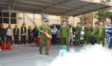 CAQ Kiến An: Tập huấn nghiệp vụ PCCC cho 160 cán bộ, công nhân viên