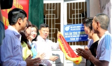 """Quận Lê Chân:  Khánh thành nhà """"Mái ấm tình thương"""" tặng hội viên nghèo"""