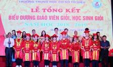 Trường THCS Tô Hiệu (quận Lê Chân): Điểm sáng về giáo dục toàn diện, đào tạo học sinh giỏi