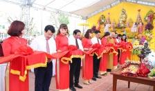Khánh thành Đền thờ Chủ tịch Hồ Chí Minh trong quần thể dự án Bảo tàng xi măng Việt Nam