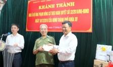 Quận Lê Chân: Khánh thành nhà ở cho gia đình người có công theo Nghị quyết 32