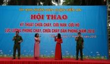 CAQ Kiến An: Huấn luyện nghiệp vụ về PCCC cho 315 người