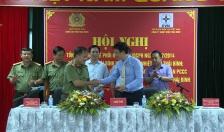 Công an tỉnh Thái Bình và BQL dự án Nhiệt điện Thái Bình: Tổng kết quy chế phối hợp về công tác đảm bảo ANTT