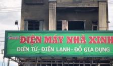 Cháy cửa hàng kinh doanh đồ điện tại xã Toàn Thắng (Tiên Lãng)
