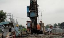 Phân luồng giao thông phục vụ thi công Dự án đầu tư xây dựng Nút giao thông Nam cầu Bính