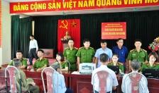 Phòng PC06 và CAH An Dương: Cấp căn cước công dân lưu động tại xã An Hòa