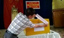 Tạm thời chưa ra quyết định công nhận kết quả bầu cử trưởng thôn Trung Hưng, xã Đông Hưng (Tiên Lãng)
