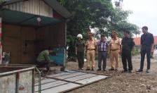 Công an xã Nam Sơn: Xử phạt 21 trường hợp lấn chiếm lòng đường, vỉa hè