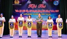 """Hội thi """"Cán bộ Hội Phụ nữ duyên dáng, tài năng"""" trong lực lượng Công an Hải Phòng năm 2019:  Ấn tượng, thiết thực và ý nghĩa"""