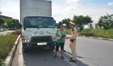 Hiệu quả công tác tổng kiểm soát phương tiện giao thông tại thị xã Đông Triều