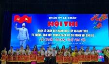 Hội thi quận Lê Chân đẩy mạnh học tập và làm theo tư tưởng, đạo đức, phong cách Hồ Chí Minh