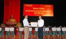 Quận Dương Kinh  Trao 30 xe đạp tặng học sinh nghèo, mồ côi