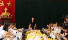 Họp tổ xây dựng Đảng, hệ thống chính trị, vận động nhân dân Tiểu ban văn kiện đại hội 16 Đảng bộ thành phố
