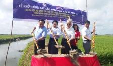 Khởi công xây 2 cầu dân snh tại huyện An Lão