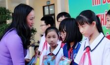 Trung thu nhân ái ở trường THCS Ngô Quyền (quận Lê Chân)