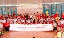 Công ty TNHH LG Display Việt Nam Hải Phòng:  Tổ chức Chương trình vui Trung thu, tặng quà cho học sinh có hoàn cảnh đặc biệt