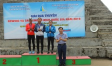 Bế mạc giải đua thuyền vô địch quốc gia năm 2019