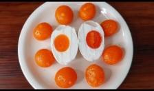 Xử lý và bảo quản trứng muối