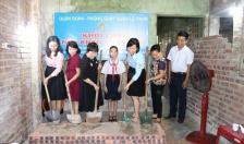 """Khởi công xây dựng nhà """"Khăn quàng đỏ"""" tặng gia đình em Nguyễn Thanh Lam"""