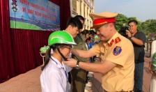 Tuyên truyền TTATGT tại Trường trung học phổ thông Lê Chân
