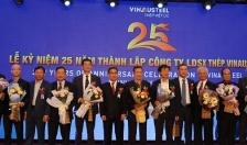 Công ty LDSX Thép Vinausteel kỷ niệm tròn 25 năm thành lập