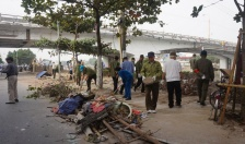Phường Lam Sơn (Lê Chân):  Ra quân lập lại TTĐH, ATGT, vệ sinh môi trường tuyến đường Lán Bè - Nguyễn Công Hòa