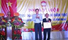 Làng văn hóa Quán Khái 4 (xã Vĩnh Phong, huyện Vĩnh Bảo): Tưng bừng ngày hội đại đoàn kết toàn dân tộc