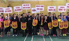 Quận Lê Chân:  Sôi nổi giải Cầu lông, Bóng bàn chào mừng các sự kiện lớn của đất nước