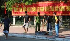 Công an quận Kiến An: Tăng cường huấn luyện nghiệp vụ PCCC