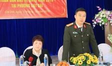 Ban Chỉ đạo 799 thành phố:  Khảo sát phong trào Toàn dân bảo vệ ANTQ tại phường Cát Dài