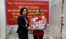 Khánh thành nhà đại đoàn kết tặng hộ nghèo