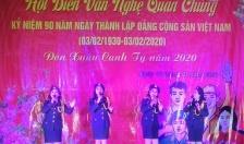 Phường Đồng Quốc Bình (quận Ngô Quyền) Liên hoan ca múa nhạc mừng Đảng, mừng Xuân