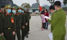 Quảng Ninh: Bàn giao 112 công dân thực hiện nghĩa vụ Công an nhân dân