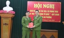 Khối CAP quận Kiến An giao ban công tác XDLL quý I