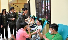 Hơn 500 cán bộ, chiến sỹ CATP Hải Phòng tham gia ngày hội hiến máu tình nguyện